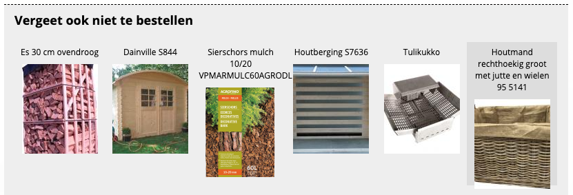 Brandhout related products
