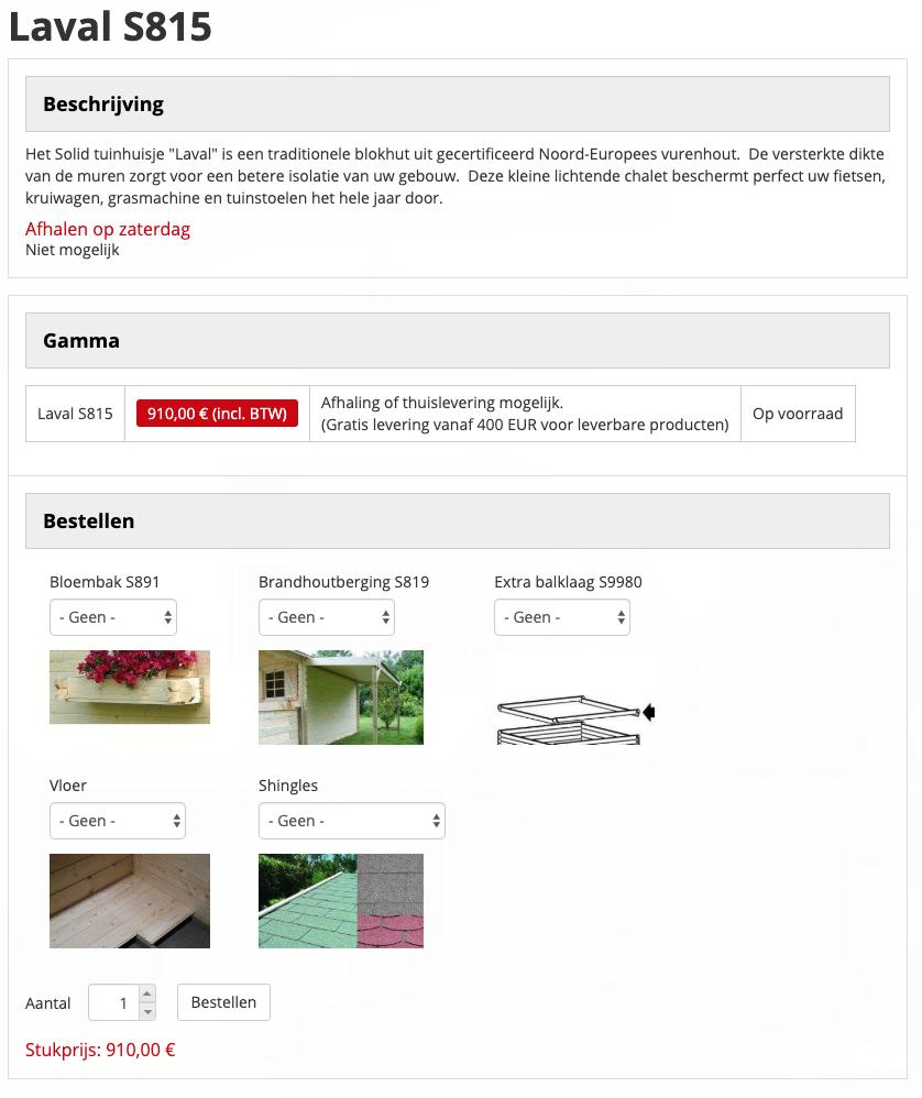 Brandhout webshop
