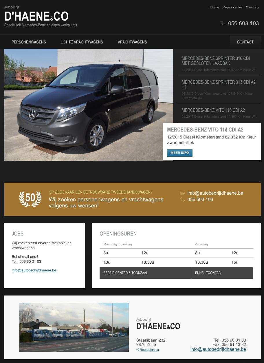 D'haene - homepage
