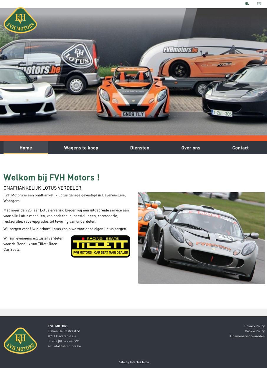 FVH motors homepage