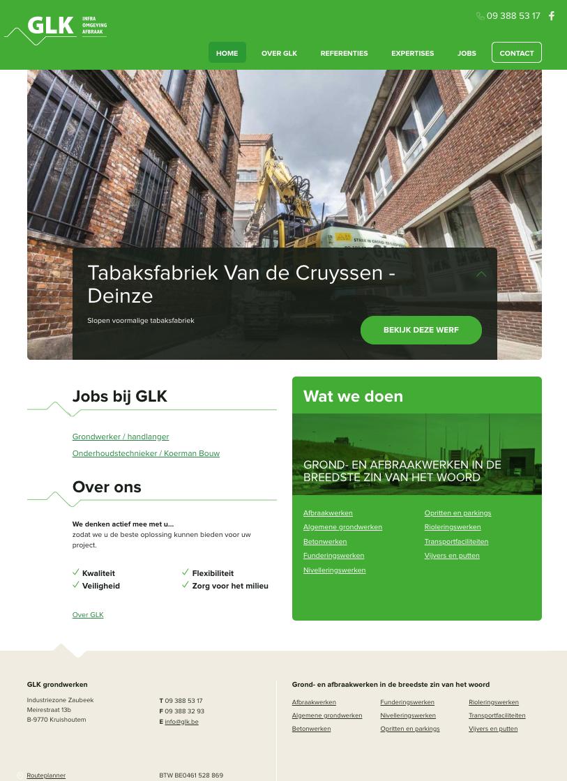 GLK-homepage