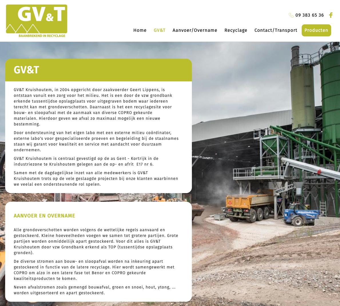 GV&T - Baanbrekend in recyclage vervolgpagina
