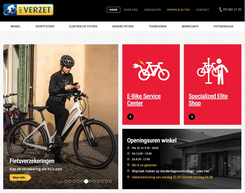 Het Verzet homepage