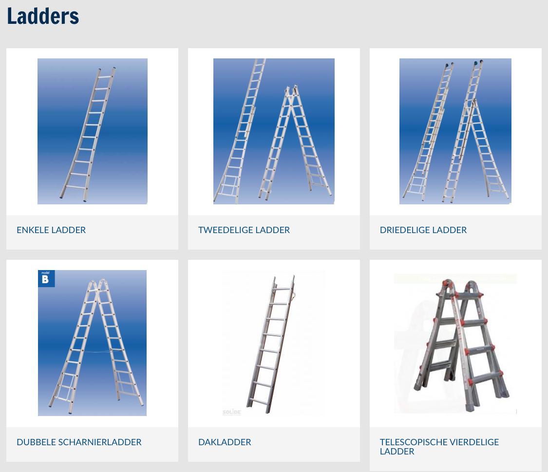 Ladderland producten