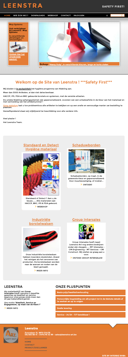 Leenstra homepage