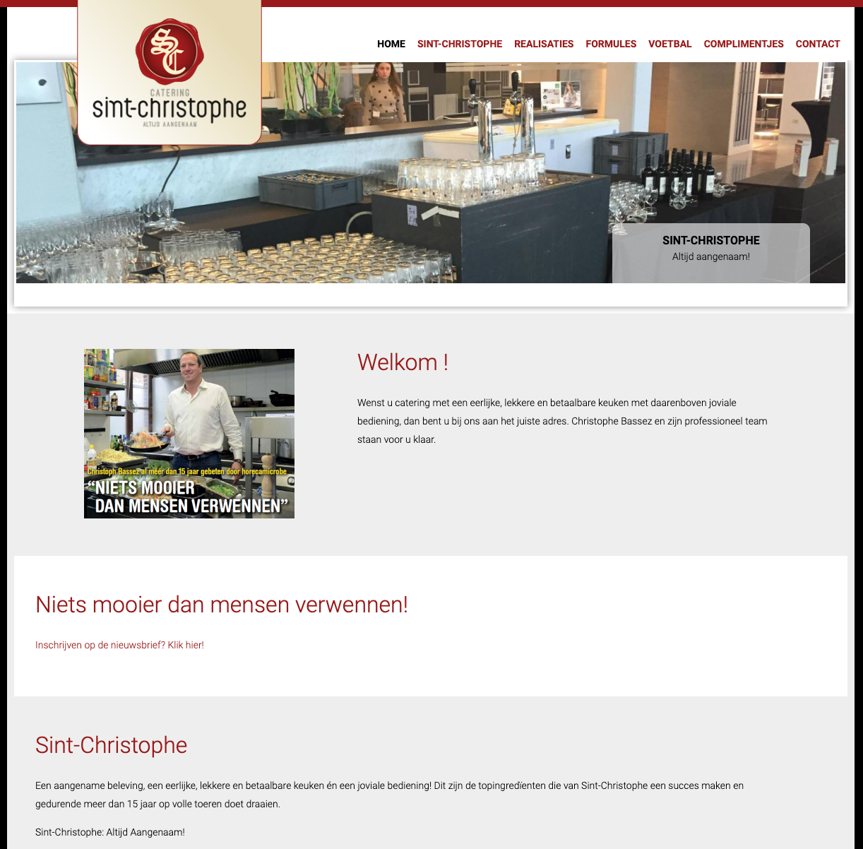 Sint-Christophe homepage