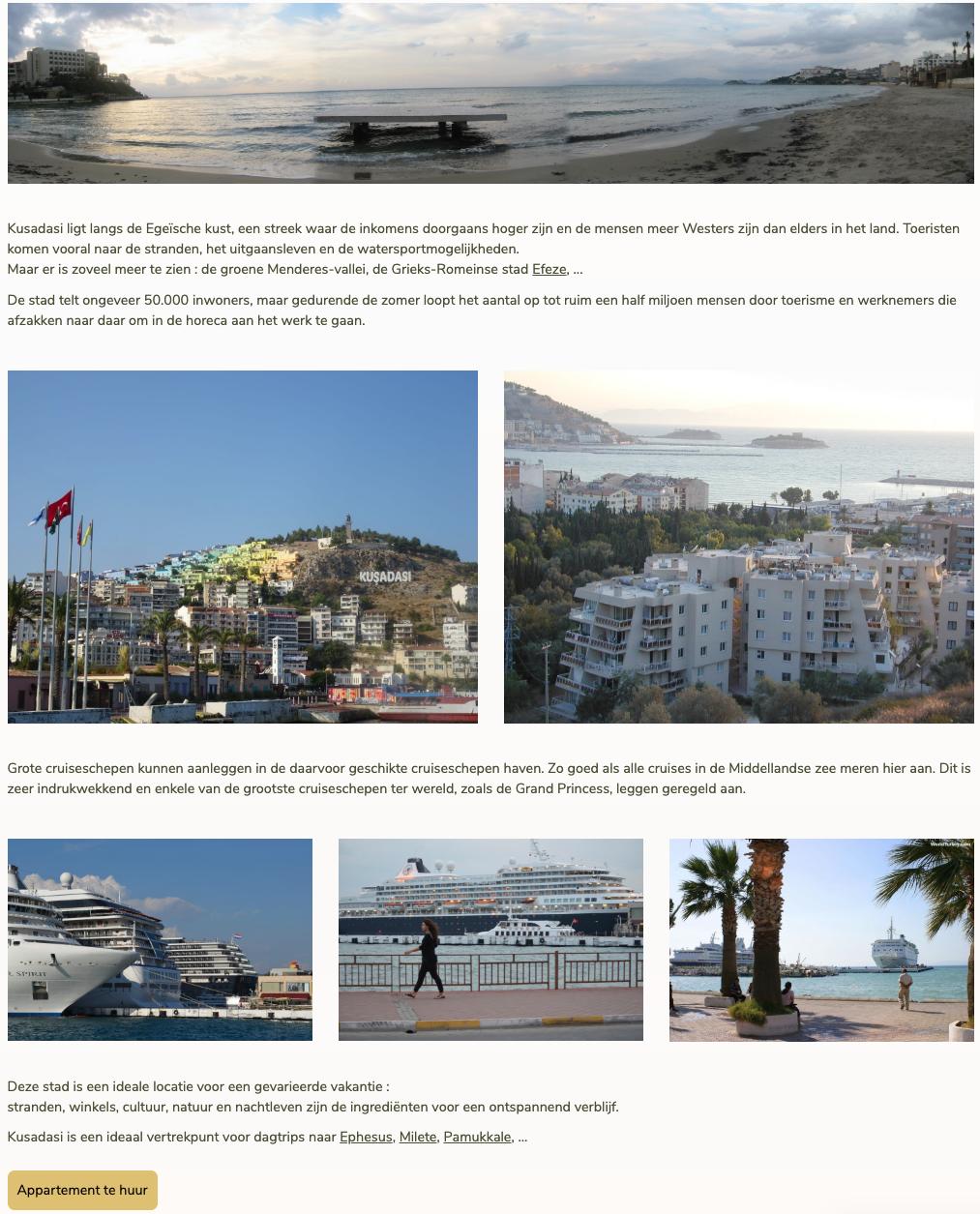 Vakantiehuis Turkije